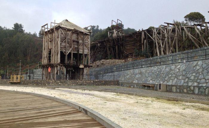 Parque del Carbón de Lebu
