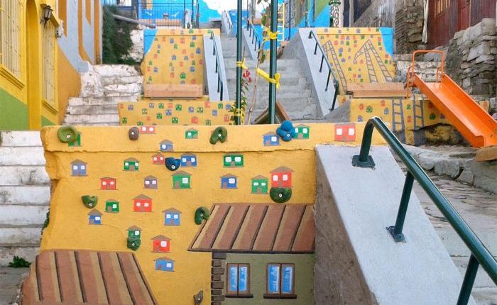 Escalera Buenaventura Argandoña (Mi Parque)